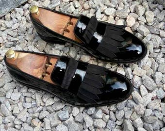 Handmade Patent Leather Loafers