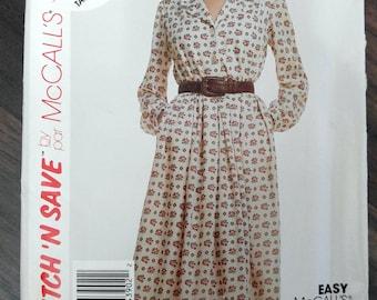 New vintage unused dress pattern McCall 4390 size 16/18/20