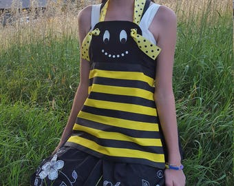 Child Bumble Bee Apron