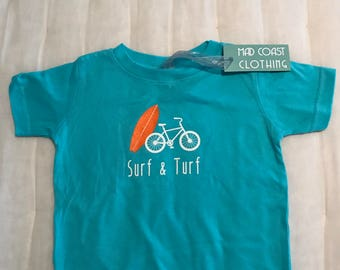 Surf & Turf toddler and infant tshirt