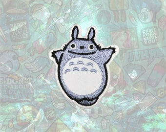 Totoro Patch Cartoon patch back patch hat patch bag patch sew on patch Iron on Patch