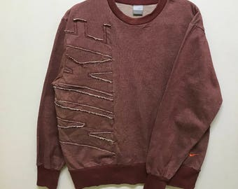 Rare!!! Nike Pullover Spellout Small Logo Embroidered