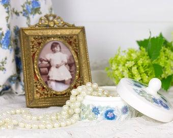 Wedgwood Clementine trinkets Box of porcelain