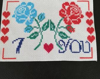 Handmade framed Embroidery