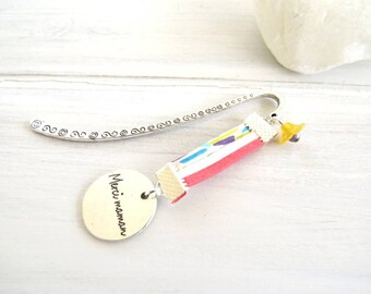 """""""Thank you MOM"""" a bookmark for a MOM.. .cadeau mothers day"""