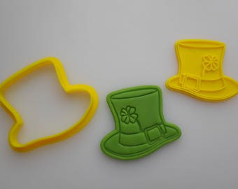 Tophat - Handmade 3D Printed Plastic Cookie Cutter