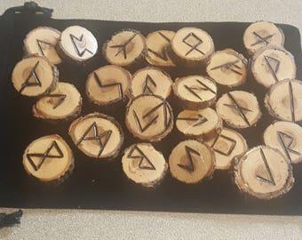 Hand Crafted Elder Futhark Runes