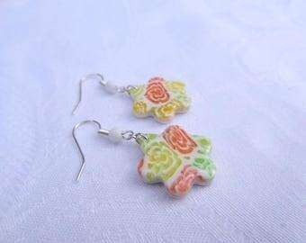 Flower Earrings colorful
