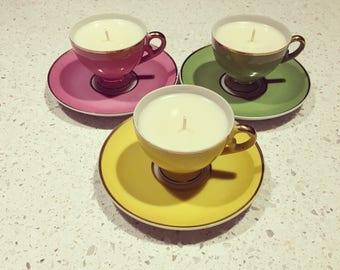 High tea candles
