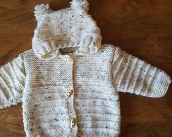 Hooded jacket size 3 months