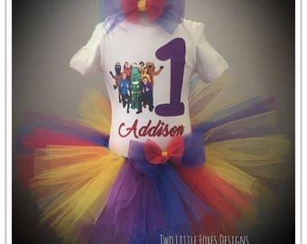 Rainbow Tutu Outfit