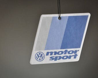 VW Motorsport Air Freshener