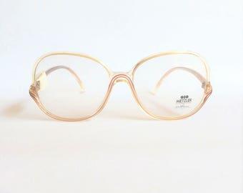 Deadstock vintage Metzler 0605 451 Glasses. Vintage eyeglass frame by Metzler made in Germany at the beginning of the 1980s.