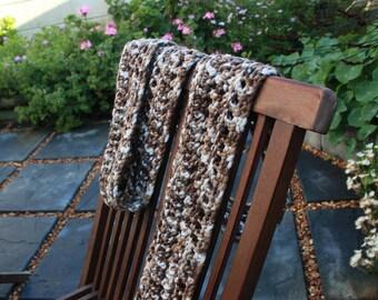 Male's Forest Scarf - Crochet Pattern