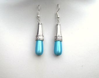 47 - For turquoise miracle bead earrings