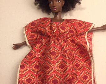 African doll clothes, Ankara, African clothes