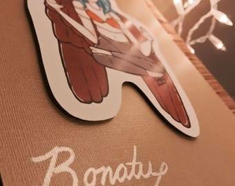Bonatu Angel, Original Character, Original Art, Manga Print, Illustration