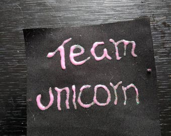 Team Unicorn Patch