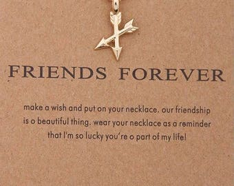 """Necklaces for women """" Friend forever """""""