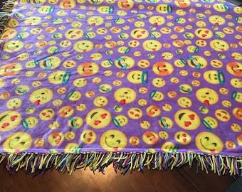 Happy Face Blanket