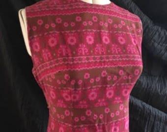 Original 1960s Midi Dress