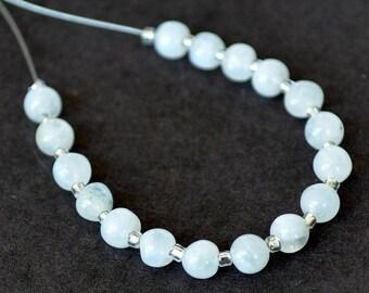 Beautiful 21 3mm Moonstone round beads