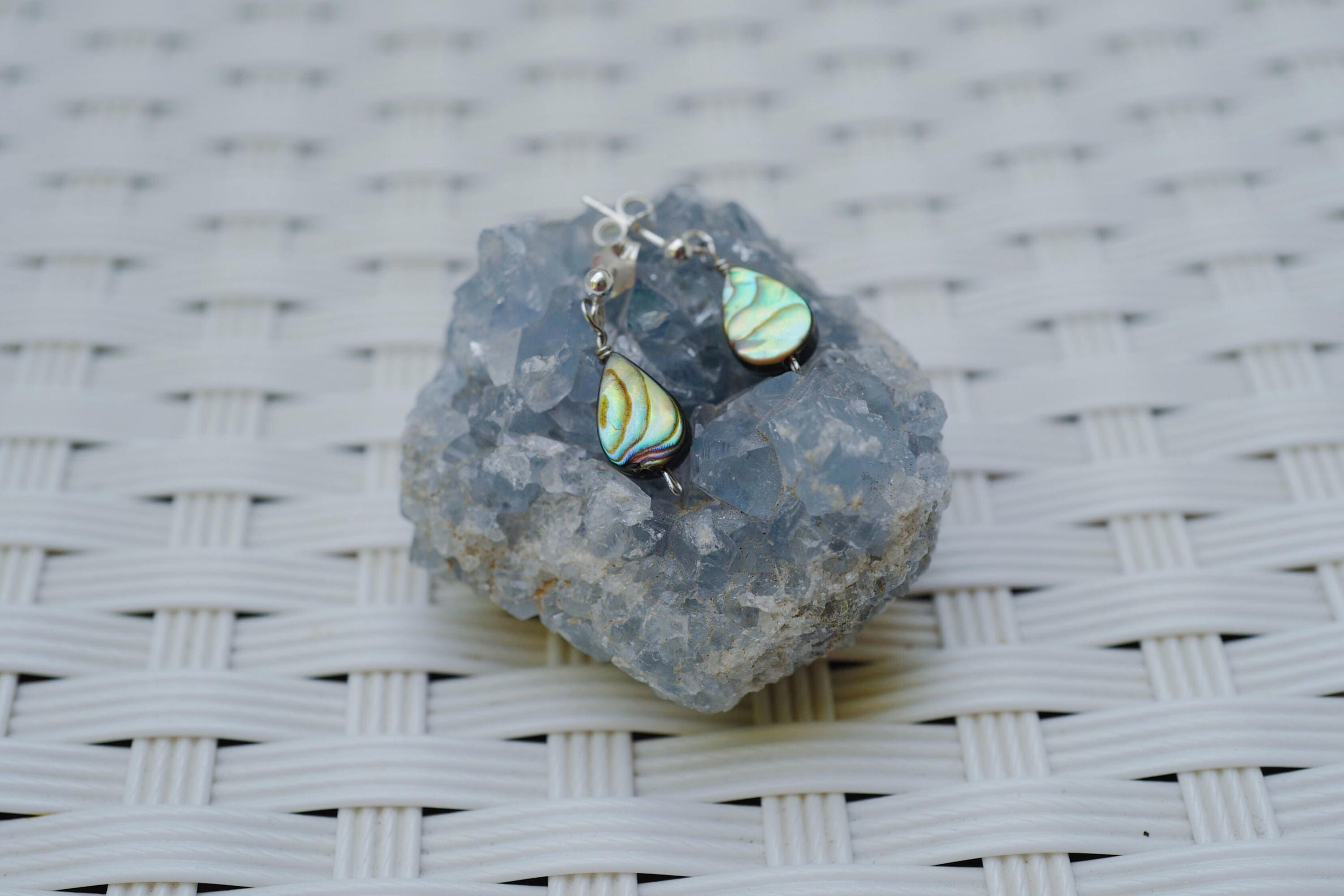 tone jewelry gallery abalone square normal goldtone spade small lyst gold earrings new stud product kate york