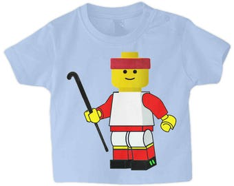 Babies Field Hockey T-Shirt, Lego Hockey Player! Funny Field Hockey T-Shirt! Field Hockey Apparel and Gifts For All The Hockey Family!
