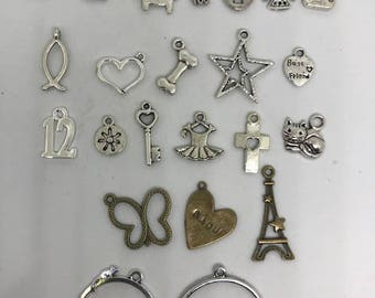 Custom Made-To-Order Charm Earrings