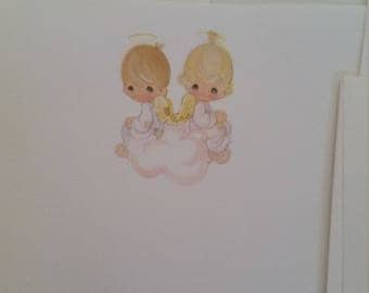 Vintage Stationery Collection ~ Precious Moments Angels Stationery Collection
