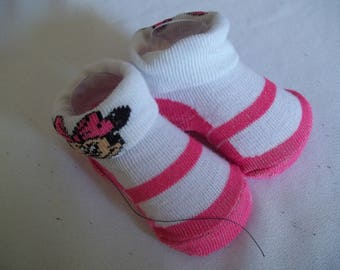 "18"" doll sized sock/shoes 415E"