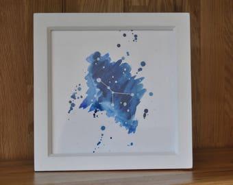 Cancer Star Sign Framed Artwork