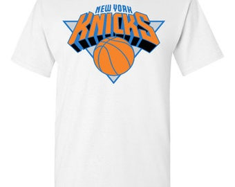 New York Knicks White T-Shirt