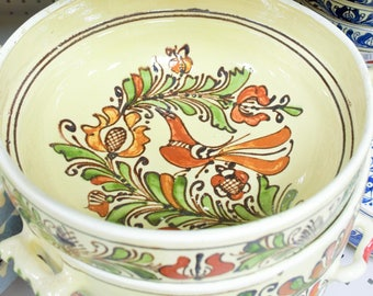 Ceramic Decoration - Traditional Romanian Bowl
