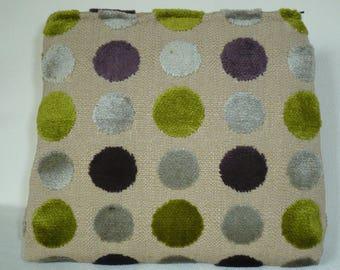 Purple, green and gray dots pattern Kit