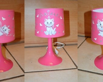 Bedside lamp glow Office Decor the Aristocats: Marie