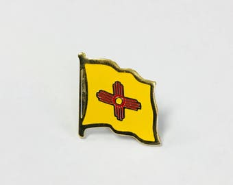 New Mexico State Flag Pins