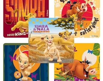 "25 Lion King Hakuna Matata Stickers, 2.5"" x 2.5"" Each"