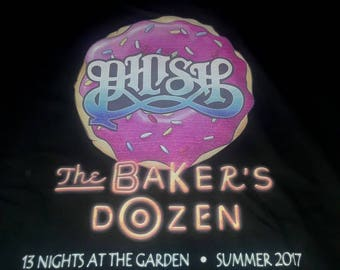 PHISH Bakers Dozen Alice in Wonderland tee shirt direct to garment