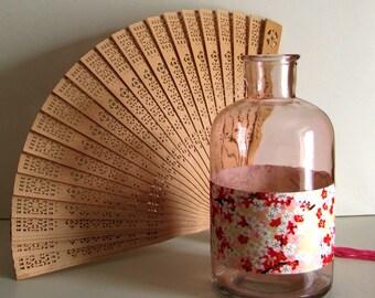 Vase pink Sakura cherry blossoms