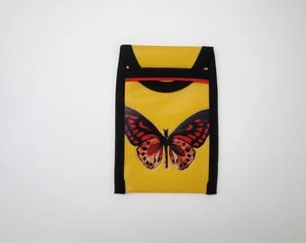 Smart Phone red Butterfly phone case