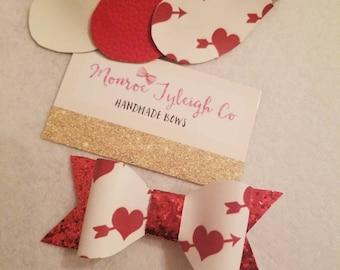 Valentine cupid hearts