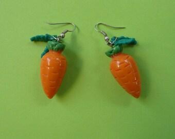 Carrot earrings עגילי גזר