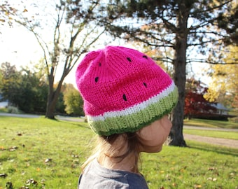 Child's Watermelon Hat