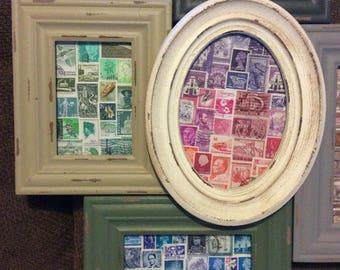 Postage Stamp Art