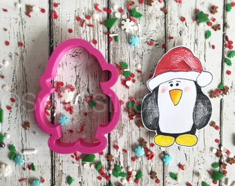 Christmas Penguin Cookie Cutter