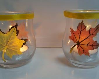 Fall Tea Light Set