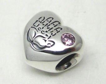 Genuine Pandora Baby Girl Charm 791280PCZ