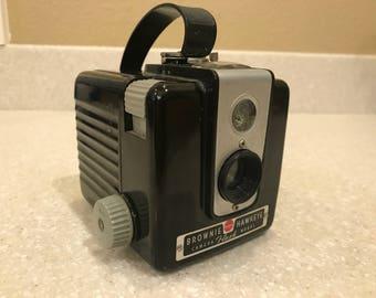 Kodak Eastman Brownie Hawkeye Flash Model - Vintage