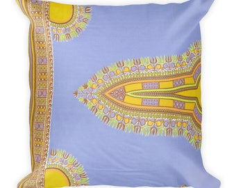 Nsungwa African wax print Square Pillow